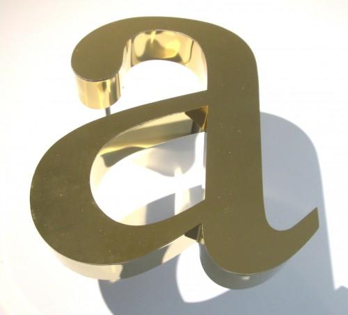 golden-letter-a