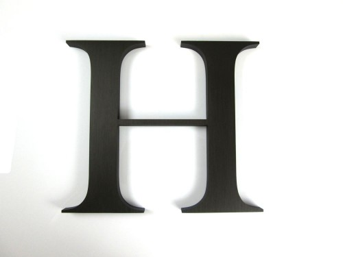 Brushed-Bronze-Anodized-Aluminium-20mmthick-letter-h
