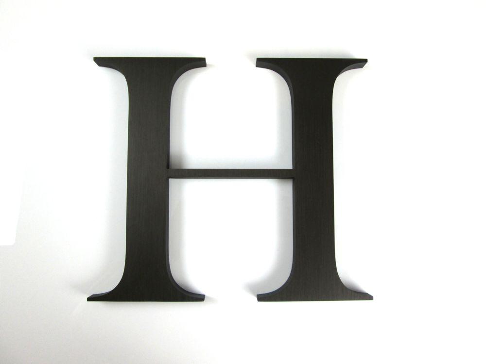 Anodized aluminium letters metal letters for Aluminum letters