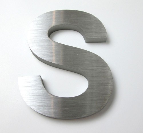 Flat Cut Stainless Steel Letters | METAL LETTERS