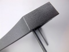 edge-finish-of cast-aluminium-characters