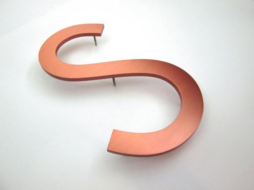 copper-letters-380high-10thick-brushed